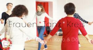 Frauen * Tanz * Kreis - Karo
