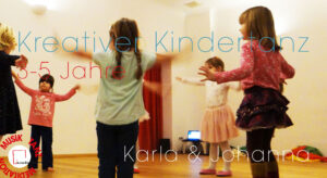 Kreativer Kindertanz (3-5 J.) - Johanna
