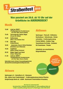 Kiezfest-Auerdreieck